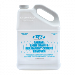 Tartar, Light Stain & Permanent Cement Remover
