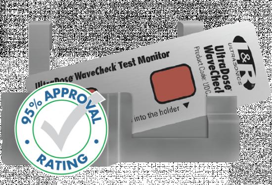 UltraDose® WaveCheck® Ultrasonic Test Monitor