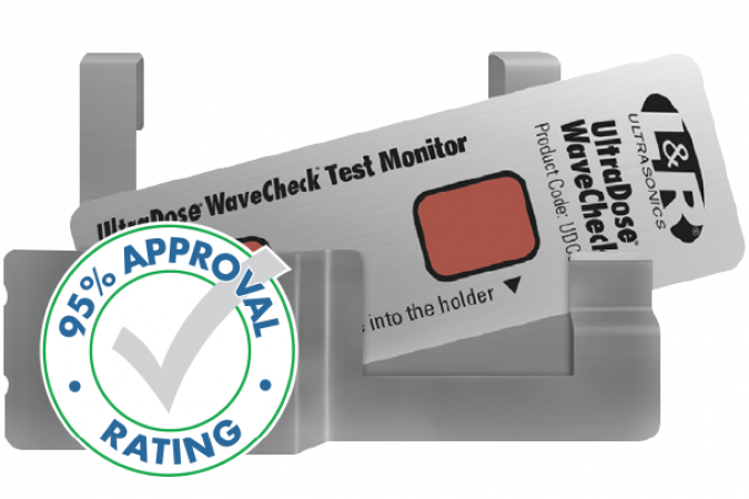 UltraDose® WaveCheck®  Receives 95% Approval Rating!